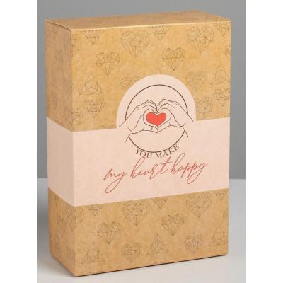 "Складная коробка ""С любовью"" - 16 х 23 см."